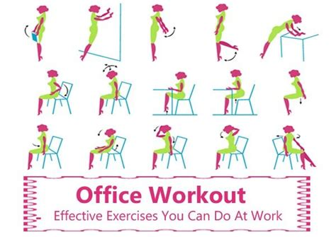 desk exercises at work ways to exercise at work without being obvious