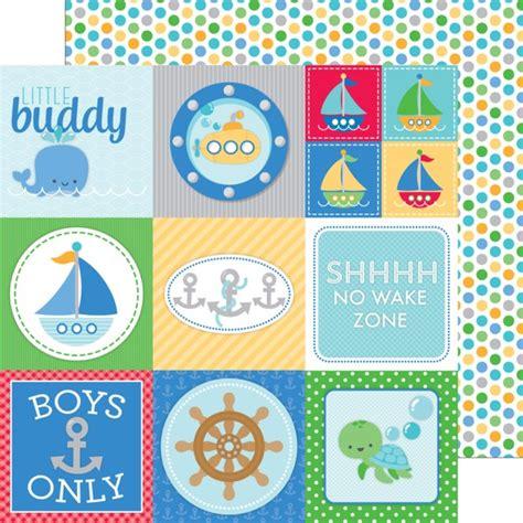 doodlebug anchors aweigh doodlebug anchors aweigh 12x12 buoy o buoy