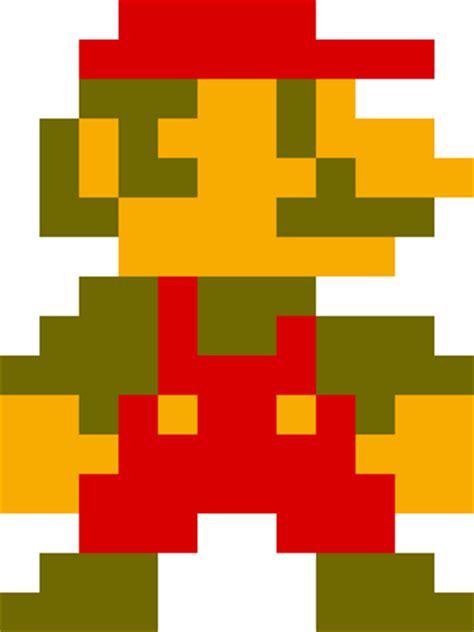8 bit pixel mario bros for powerpoint 8bit mario minecraft skin