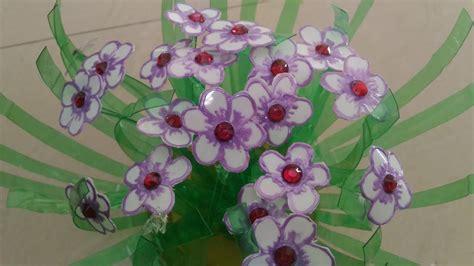 Flower Vase From Plastic Bottle by Diy Flower Vase From Plastic Bottle