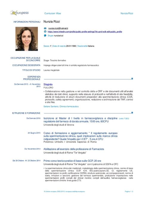 curriculum vitae europass 2015 da compilare free resume cv europass italiano curriculum vitae 2018