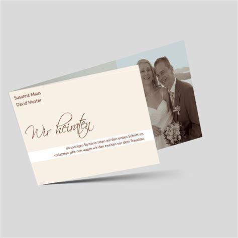 Hochzeitskarten Mit Foto by Hochzeitskarte Mit Foto Freudvoll