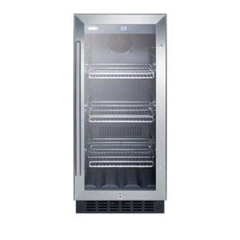 Summit Appliance 15 In 2 45 Cu Ft Mini Refrigerator Mini Fridge Glass Door