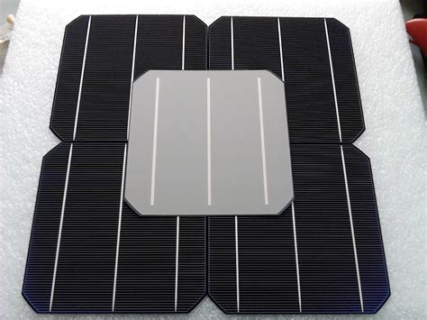 Solar Cell Monocrystalline 156 X 156mm Kit 3 Busbar Solar Panels Best 10 pcs 4 8w 0 5v 20 effciency grade a 156 156mm photovoltaic mono monocrystalline silicon