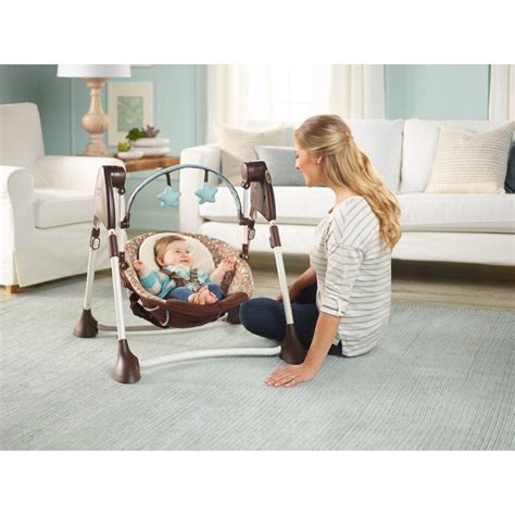 swing by me portable 2 in 1 swing graco swing by me 2 in 1 portable swing review