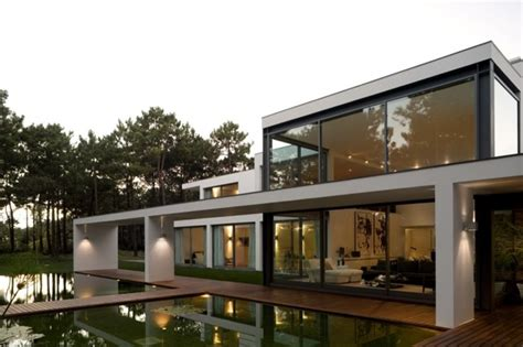 modern lake house world of architecture modern lake house in portugal