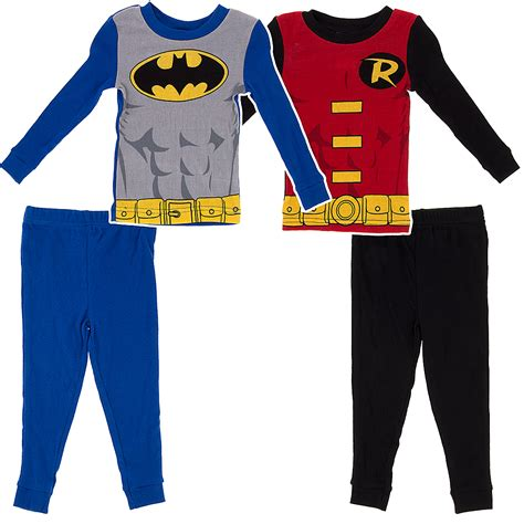 two pajamas for toddlers batman and robin set of two pajamas for toddler boys