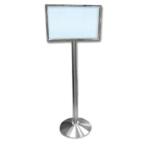 sign stands elite stainless steel sign stand gaviton events