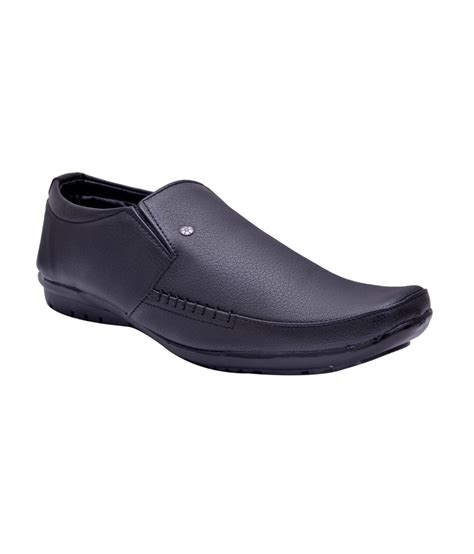 buy fentacia black s formal shoes for snapdeal
