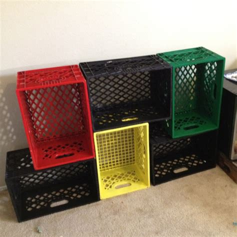 milk crate shelves 1000 ideas about milk crate shelves on crate