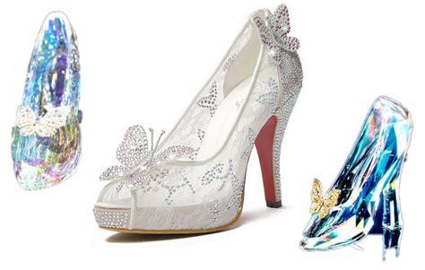 2015 new cinderella luxury prom wedding shoes princess