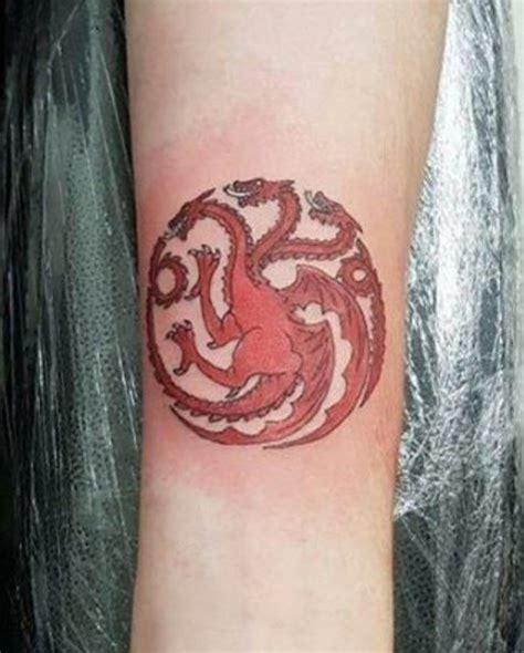 targaryen tattoo 50 of thrones ideas designs 2018