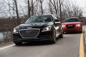 Chrysler Genesis 2015 Chrysler 300 Vs 2015 Hyundai Genesis Comparison