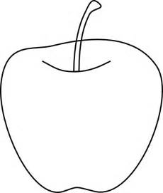 Apple Outline by Apple Clip At Clker Vector Clip Royalty Free Domain