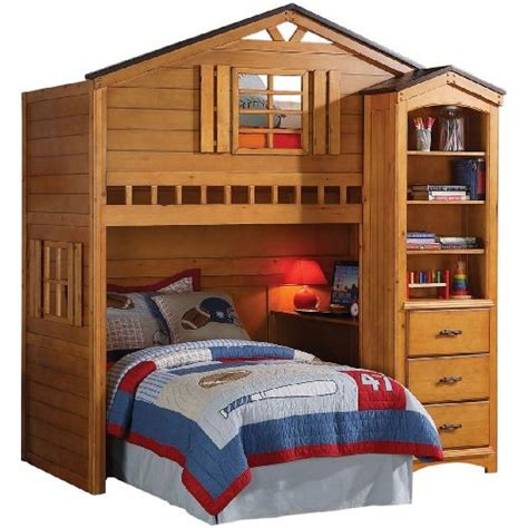treehouse bunk bed bedroomdiscounters loft beds workstation beds tent beds
