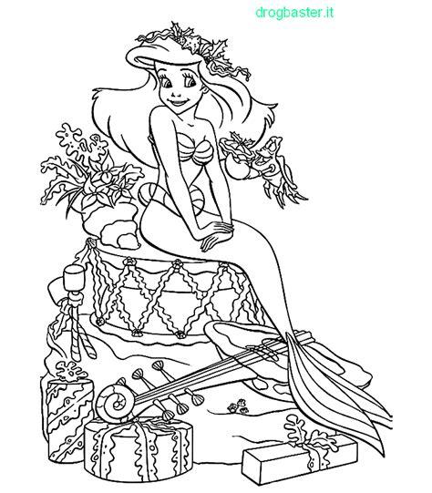 ariel winter coloring pages bellissimi disegni da colorare immagine da stare