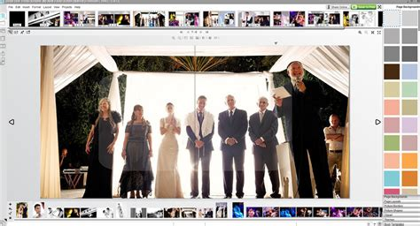 photo album layout software wedding album design software