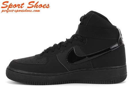 all black high top sneakers nike air 1 mens high tops shoes all black mens