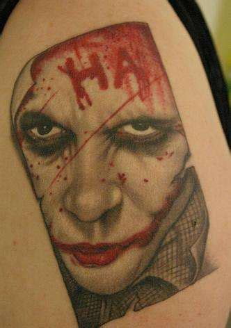 heath ledger tattoos the joker heath ledger
