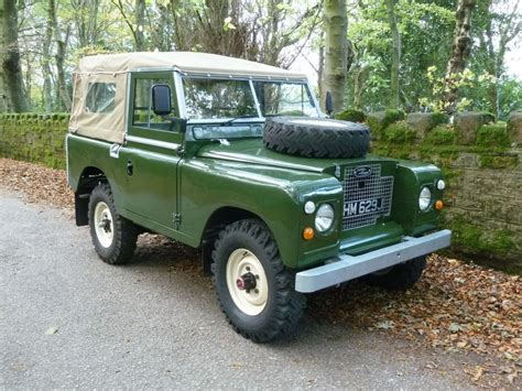1970 land rover ehm 629j 1970 land rover series 2a tax exempt