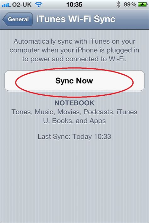 how to sync iphone wifi how to set up itunes wi fi sync for iphone imore