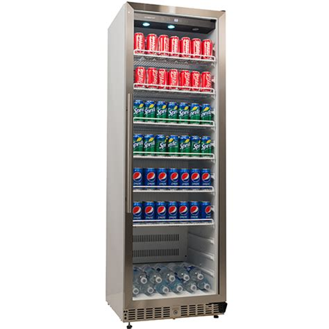 edgestar built in commercial beverage merchandiser vbr640