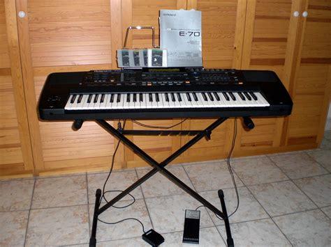 Keyboard Roland E70 roland e 70 image 514804 audiofanzine