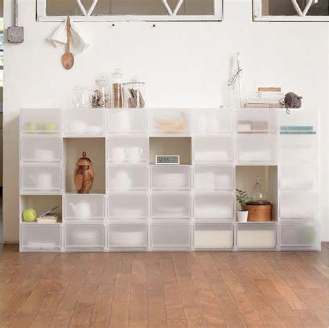 Cuisine Façon Atelier by Muji Shoeboxes Instead Of Ikea Wish List