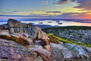 Acadia National Park Cadillac Mountain Cadillac Mountain In Bar Harbor Maine