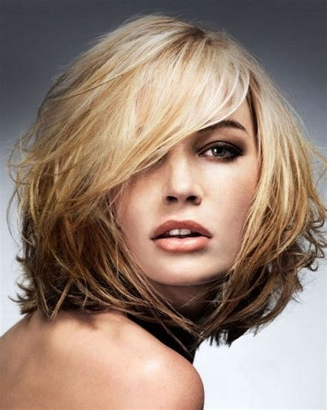 shoulderlength volume haircut 55 artistic medium length layered hairstyles to try