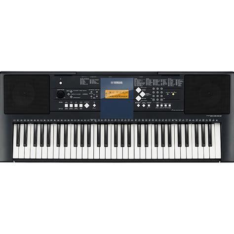 portable keyboards bh photo video manual guide yamaha psr e333 61 key mid level portable keyboard music123