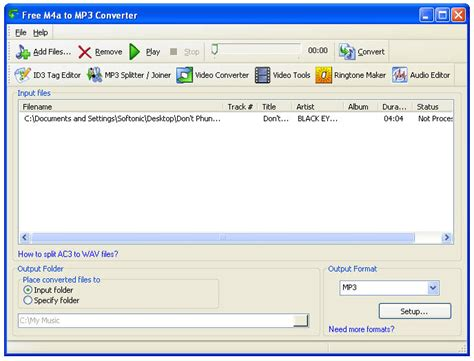 download video to mp3 converter for xp free m4a to mp3 converter download
