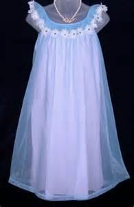 Vanity Fair Nightgowns Vanity Fair Nightgown Blue Pink Babydoll At Option