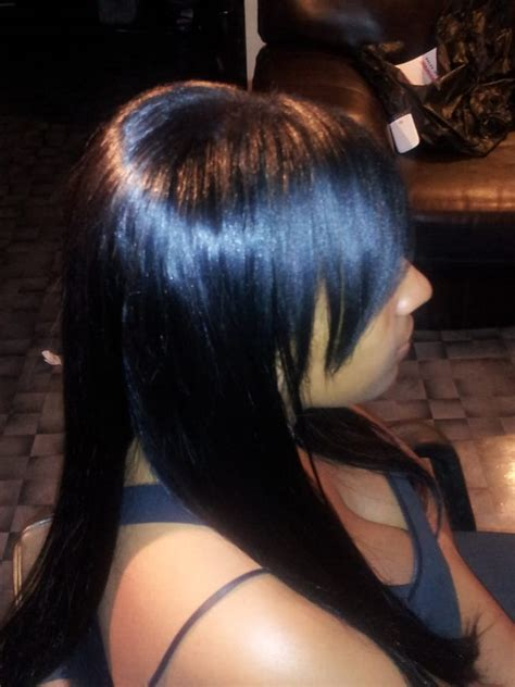 partial weave hair natural partial sew in weave yelp