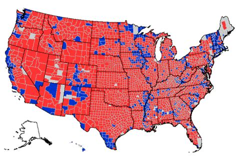 map of usa votes by county november 2004 tales of brave ulysses page 2