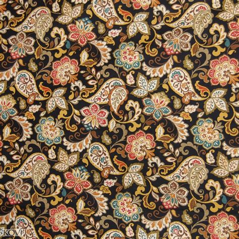 black floral upholstery fabric java black floral linen upholstery fabric