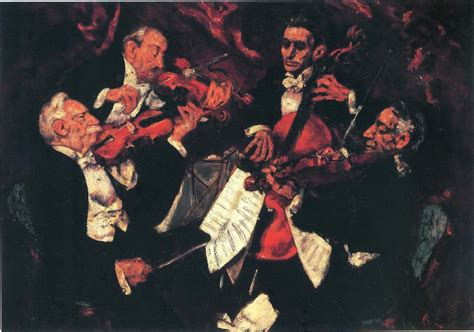 Arts String Quartet - american illustration on albert