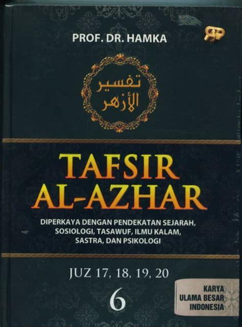 Tafsir Al Azhar bukukita tafsir al azhar jilid 6 toko buku