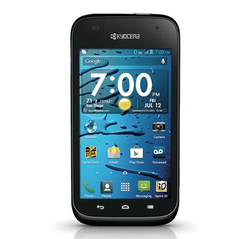 kyocera android kyocera hydro edge bluetooth wifi gps android smart phone sprint excellent condition used