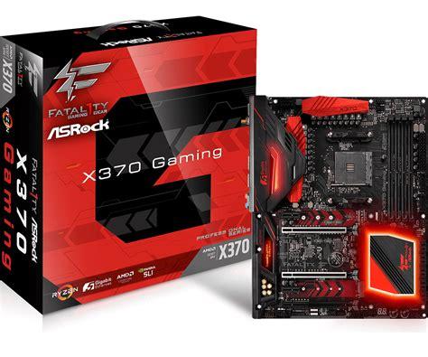 Asrock Fatal1ty X370 Gaming X Am4 Amd Promontory X370 Ddr4 Usb3 0 asrock gt fatal1ty x370 professional gaming