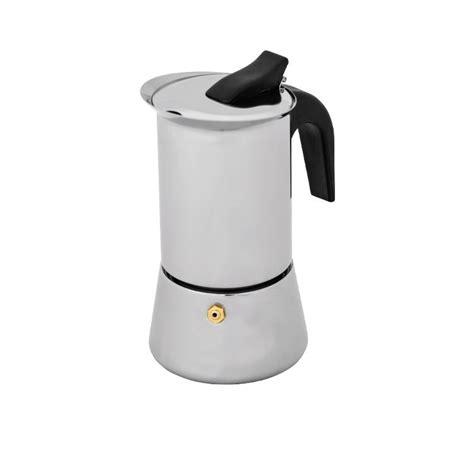 Teko Kopi Espresso Pot 6 Cup Avanti Inox Espresso Coffee Maker 6 Cup Fast Shipping