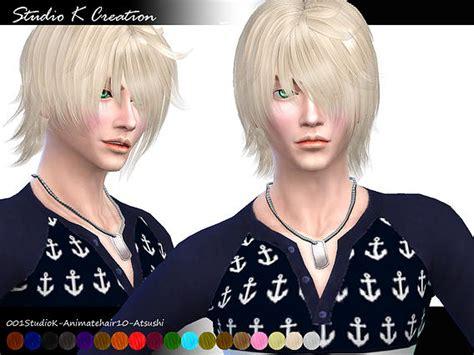 emo boy sims 4 animate hair 10 atsushi at studio k creation 187 sims 4 updates