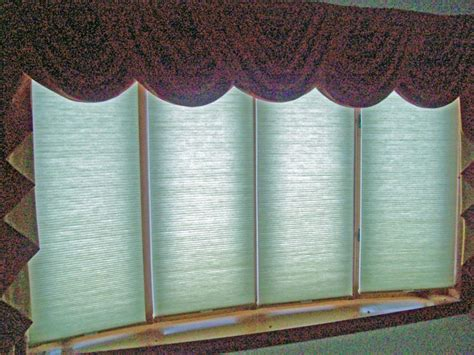 bow window shades cordless cellular shades on 4 window bow bay bow