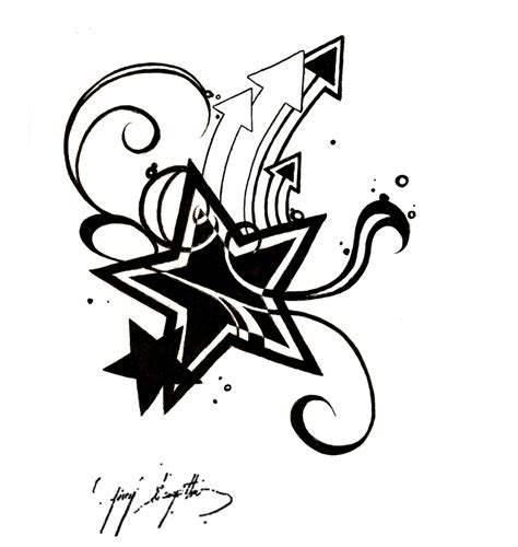 tattoo designs you can print free star tattoo designs to print clipart best