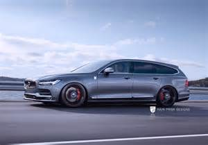 Volvo V90 Sportier Volvo V90 Could Challenge The Likes Of Audi S Rs6