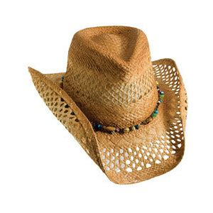 honeycomb vented womens straw cowboy hat hatcountry