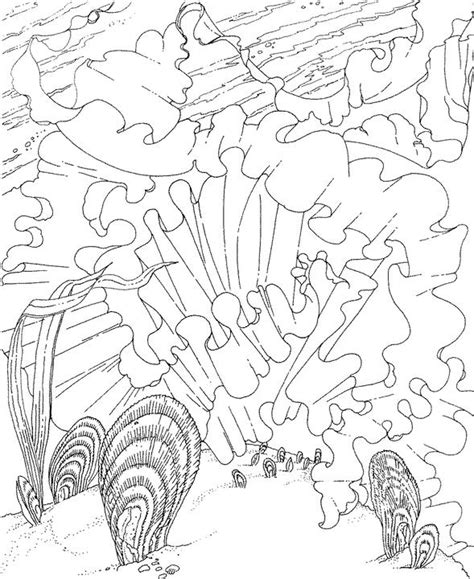ocean life coloring pages coloring coloring pages