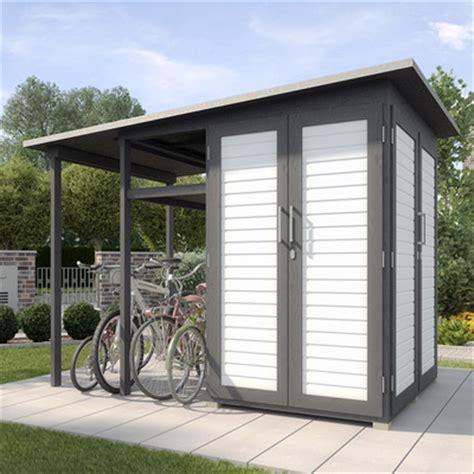 Gartenhaus Mit Fahrradunterstand gartenhaus pultdach ger 228 tehaus pultdach garten q gmbh