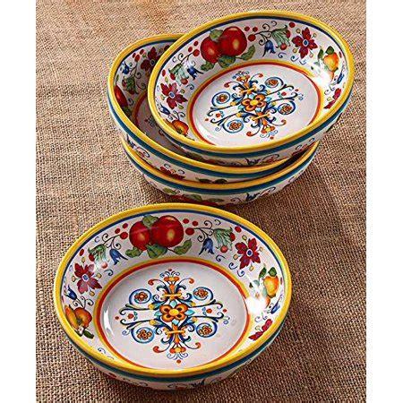 set of 4 pasta bowl set walmart