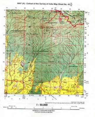 icse geography: how to solve topographical maps: full